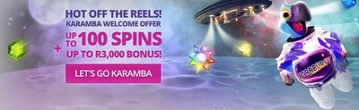Karamba Casino Welcome Bonus South Africa