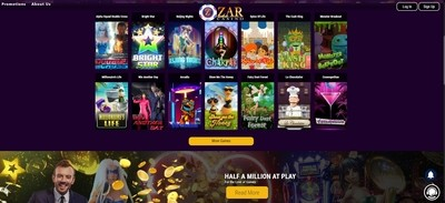 ZAR Casino Review South Africa